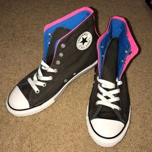 NWOT: Converse Double-Layered High Tops‼️